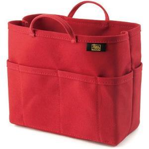 帆布 の バッグインバッグ ( 8号帆布 製/ レッド ) < 収納 かばん ポーチ >|vannuyswebshop