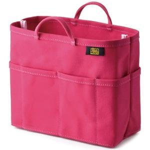 帆布 の バッグインバッグ ( 8号帆布 製/ ピンク ) < 収納 かばん ポーチ >|vannuyswebshop