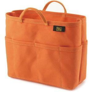 帆布 の バッグインバッグ ( 8号帆布 製/ オレンジ ) < 収納 かばん ポーチ >|vannuyswebshop