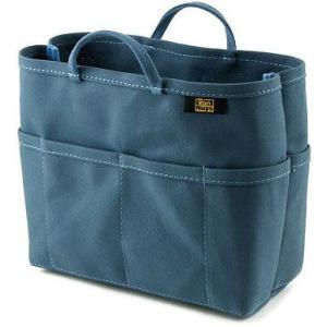 帆布 の バッグインバッグ ( 8号帆布 製/ ブルー ) < 収納 かばん ポーチ >|vannuyswebshop
