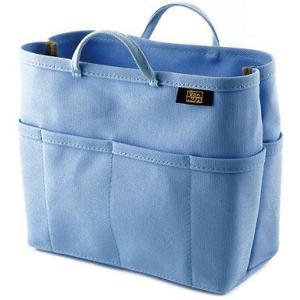 帆布 の バッグインバッグ ( 8号帆布 製/ ライトブルー ) < 収納 かばん ポーチ 水色 >|vannuyswebshop