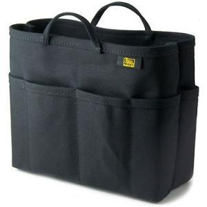 帆布 の バッグインバッグ ( 8号帆布 製/ ブラック ) < 収納 かばん ポーチ >|vannuyswebshop