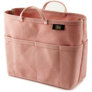 帆布 の バッグインバッグ ( 8号帆布 製/ なでしこ ) < 収納 かばん ポーチ ピンク >|vannuyswebshop