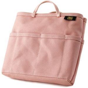帆布 の バッグインバッグ /薄型( 8号帆布 製: なでしこ ) < 収納 かばん 旅行 ポーチ ピンク >|vannuyswebshop
