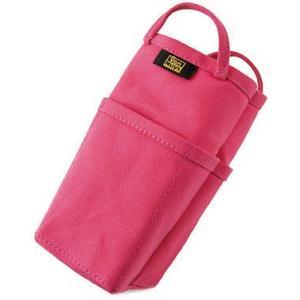 帆布 の バッグインバッグ /縦型( 8号帆布 製: ピンク ) < 収納 かばん 旅行 ポーチ >|vannuyswebshop