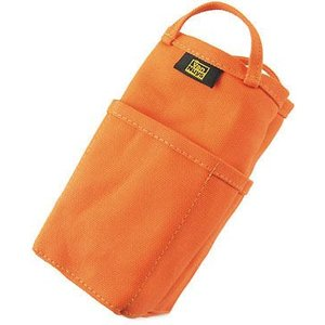 帆布 の バッグインバッグ /縦型( 8号帆布 製: オレンジ ) < 収納 かばん 旅行 ポーチ >|vannuyswebshop