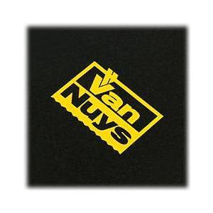 バンナイズカッティングステッカー40×28(カラー:イエロー)< VanNuys ロゴ シール > vannuyswebshop