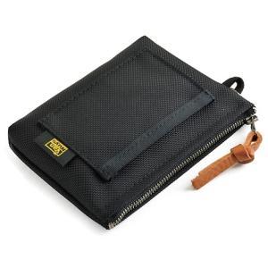 iQOS用 仕切り付きファスナーポーチ Type-B バリスティックナイロン製 (ブラック)< アイコス ポケット チャージャー ヒート スティック > vannuyswebshop