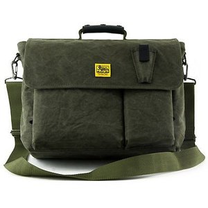 Semi Flap Messenger For Fishing Ver.1.2(6号帆布ストーンウォッシュ加工)グリーン< 帆布 釣り フィッシング バッグ >|vannuyswebshop