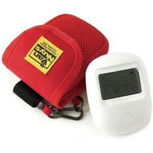 エステー エアカウンター用キャリングケース(8号帆布製/レッド)< 放射線 測定器 ポーチ >|vannuyswebshop