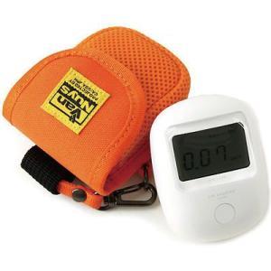 エステー エアカウンター用キャリングケース(8号帆布製/オレンジ)< 放射線 測定器 ポーチ >|vannuyswebshop
