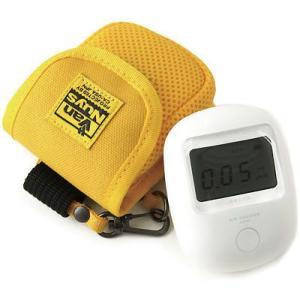 エステー エアカウンター用キャリングケース(8号帆布製/イエロー)< 放射線 測定器 ポーチ >|vannuyswebshop