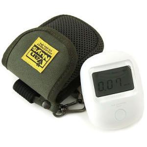 エステー エアカウンター用キャリングケース(8号帆布製/グリーン)< 放射線 測定器 ポーチ >|vannuyswebshop