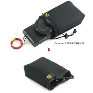 バッグの中にポンッと 放り込んでおける SONY Cyber-shot RX100M4/RX100M3/ RX100M2/RX100 HX30V/HX9V用 ふわふわケース (開口部ストッパー付き)|vannuyswebshop|03
