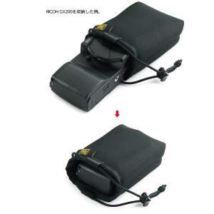 バッグの中にポンッと 放り込んでおける SONY Cyber-shot RX100M4/RX100M3/ RX100M2/RX100 HX30V/HX9V用 ふわふわケース (開口部ストッパー付き)|vannuyswebshop|04