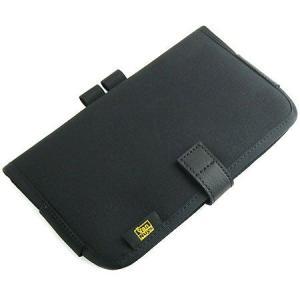 A4コピーノート用、A4コピーノート スナップボタンタイプ用カスタムパーツ:7インチサイズのタブレットなども収納できる本体の幅を調節できる多目的ポケット|vannuyswebshop