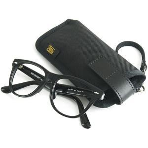 縦型 メガネ 用 ソフト ケース / バリスティック ナイロン 製 ( ブラック )< 帆布 サングラス 眼鏡 めがねケース >|vannuyswebshop