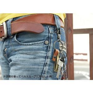 真鍮製 吊り下げ フック の キーホルダー < 真鍮 アンティーク キーリング >|vannuyswebshop|06