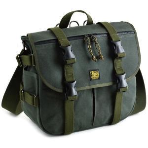 ちょっとミリタリーな感じの バッグシリーズ/Type-B 帆布の3wayバッグ Lサイズ (本体/フラップ/ 6号帆布製:ブルーグリーン パラフィン加工済み)|vannuyswebshop