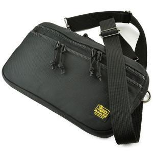 薄型 ライト ショルダー (バリスティックナイロン製) ブラック < ショルダーバッグ 斜め掛け 鞄 カバン メンズ メッセンジャー >|vannuyswebshop