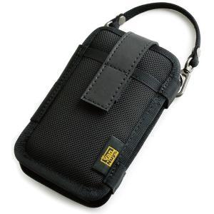 SONY ウォークマン WM1Z/WM1A用 縦型キャリングケース Type-A <帆布のバッグ用ストラップ 付属タイプ> (バリスティックナイロン製) ブラック vannuyswebshop