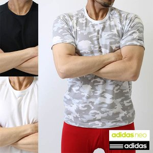 アディダス (adidas)NEO メンズ スポーツかのこ半袖丸首tシャツ AM4-0111 吸汗速...