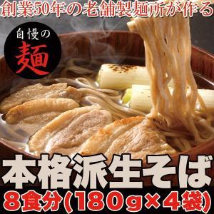 ポイント消化  本格派生 そば 8食(180g×4袋) 送料無料 セール|vape-land