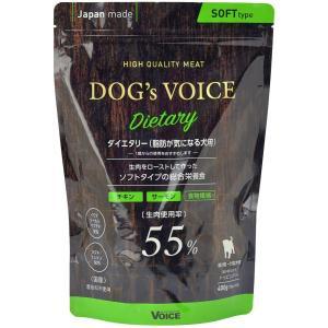 Dog'sVoiceドッグヴォイスダイエタリー(低カロリー)55ローストチキン&サーモン400g 送料無料 即日発送 vape-land