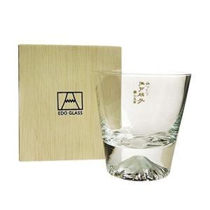 富士山ロックグラス 木箱入り 270ml 2015年 田島硝子 ギフト 贈答品 プレゼントに最適!|vape-land