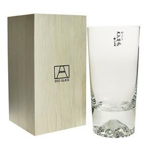 田島硝子 富士山グラス 富士山タンブラー 木箱入 江戸切子 ビアグラス ビールグラス 父の日 還暦祝い 誕生日 ギフト 記念品 母の日|vape-land