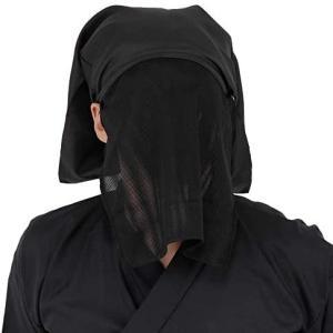 コスプレ 仮装 衣装 Patymo 黒子頭巾(かげのひと) 送料無料 即日発送 条件一切なし
