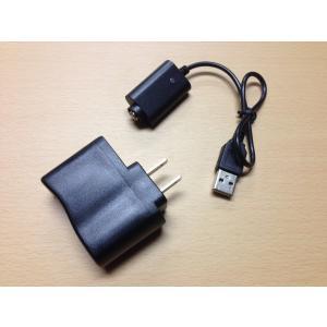 《ゆうパケット送料無料》 USBチャージャー&ACアダプターセット 電子タバコ ego規格用 VAPE|vapecollection