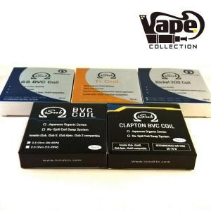 《ゆうパケット送料無料》INNOKIN ISUB 温度管理 (ニッケル/チタン/SS) 専用コイル 5個セット 電子タバコ リキッド 電子タバコ 国産 コットン|vapecollection