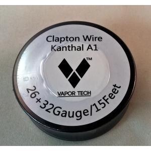 《ゆうパケット送料無料》VAPOR TECH Kanthal A-1 クラプトンワイヤー26GA+32GA 15フィート 電子タバコ VAPE 直ドリ RBA RDA RTA ワイヤー 巻く リキッド 爆煙|vapecollection