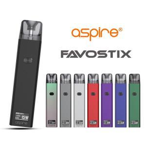 電子タバコ ベイプ スターターキット Aspire アスパイア Favostix ファボスティックス スターターキット  ベプログ VAPE ベープ 本体 禁煙 充電式|vapecollection