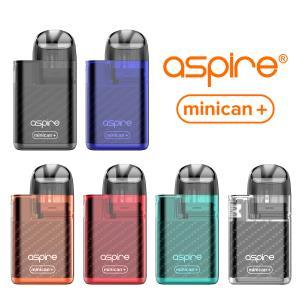 電子タバコ ベイプ スターターキット Aspire Minican+ アスパイア ミニカンプラス スターターキット ベプログ VAPE ベープ 本体 禁煙 充電式 vapecollection