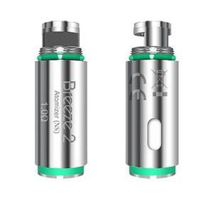 ゆうパケット送料無料 Aspire アスパイア Breeze 2 ブリーズ2 専用コイル 1.0Ω 5個セット VAPE ベイプ ベプログ 電子タバコ|vapecollection