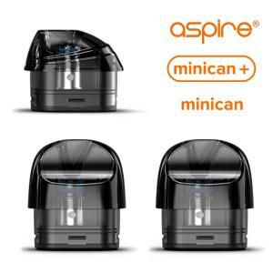 電子タバコ ベイプ Aspire アスパイア Minican ミニカン 交換用POD 1.2Ω 2.0ml 1.0Ω 0.8 3.0ml  2個入り メッシュコイル ベプログ VAPE ベープ vapecollection