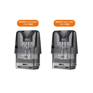 電子タバコ ベイプ  Aspire アスパイア Favostix ファボスティックス 交換用カートリッジ 0.6Ω 3個入り、1Ω 3個入り ベプログ VAPE ベープ 本体 禁煙 vapecollection