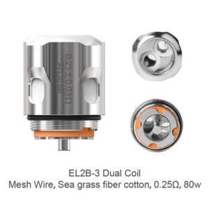 電子タバコ ベイプ Ehpro エプロ Raptor Dual Coil ラプターデュアルコイル 0.25Ω 3個セット ベプログ VAPE ベープ 本体 禁煙 充電式|vapecollection