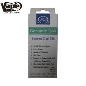 《ゆうパケット送料無料》 innokin(イノキン) iSub Ceramic coil 0.5Ω (アイサブ セラミックコイル)電子タバコ コイル イノキン 交換用 VAPE|vapecollection