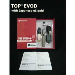 【KangerTech】TOP EVOD with Japanese eLiquid(トップイーボッド ウィズ ジャパニーズイーリキッド)|vapecollection