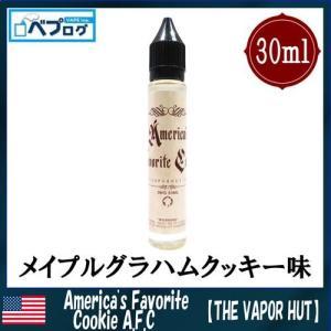 【THE VAPOR HUT(ベイパーハット)】America's Favorite Cookie(アメリカズフェイバリットクッキー)30ml リキッド USA 電子タバコ 人気 海外リキッド|vapecollection