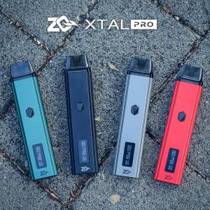 電子タバコ ベイプ スターターキット ZQ Vaporゼットキューベイパー ZQ Xtal Pro Pod Kit エクスタルプロポッドキット ベプログ VAPE ベープ 禁煙 充電式|vapecollection