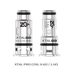 電子タバコ ベイプ ZQ Vaporゼットキューベイパー ZQ Xtal Pro Coil エクスタルプロ コイル  0.6Ω 1.0Ω ベプログ VAPE ベープ 本体 禁煙 充電式 vapecollection