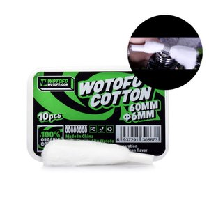 Wotofo Agleted Organic Cotton 6mm (for Profile RDA...