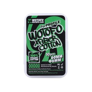 Wotofo Xfiber Cotton 6mm (for Profile RDA&Profile ...
