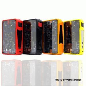 電子タバコ VAPE 本体 Sigelei Kaos Z 200W Box Mod 光る! べイプ 電子たばこ 電子煙草 禁煙|vapekobesannomiya
