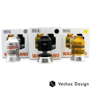 Oumier Wasp Nano RDTA Atomizer 2ml BLACK/GOLD/Pearl White|vapekobesannomiya