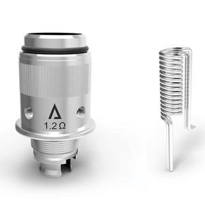 電子タバコ VAPE Vethos Design ALPHA XF 交換用コイル (5pcs) 1.2ohm アトマイザー コイル べイプ 電子たばこ 電子煙草|vapekobesannomiya